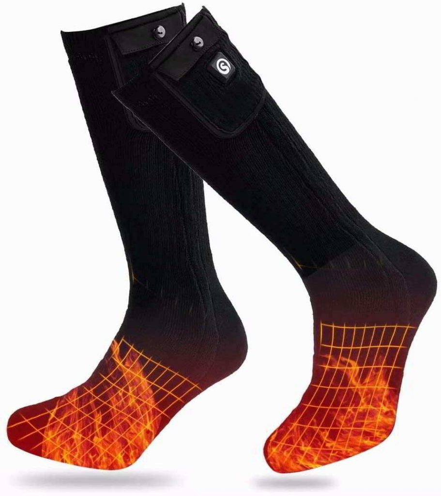 calcetines calefactables