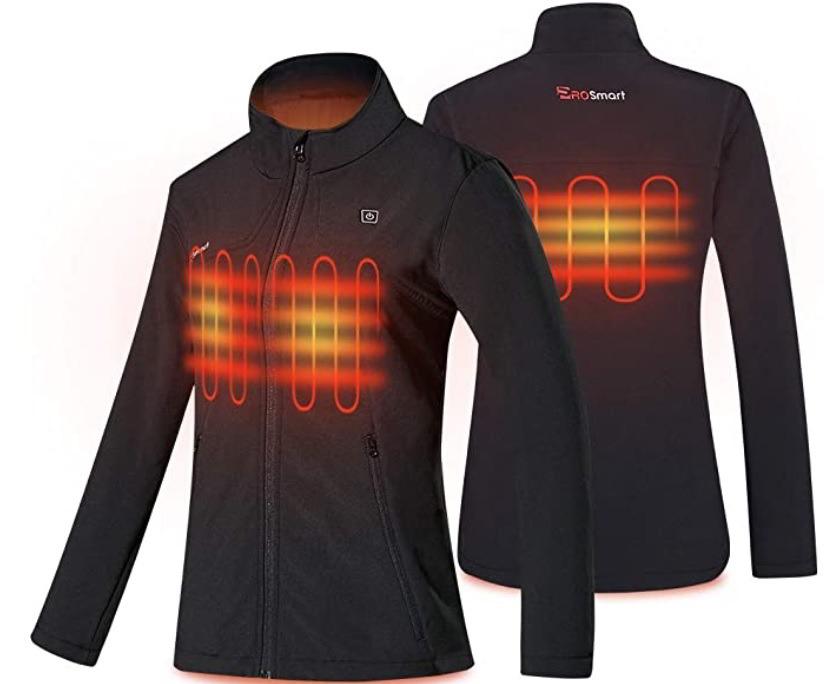 chaquetas calefactables
