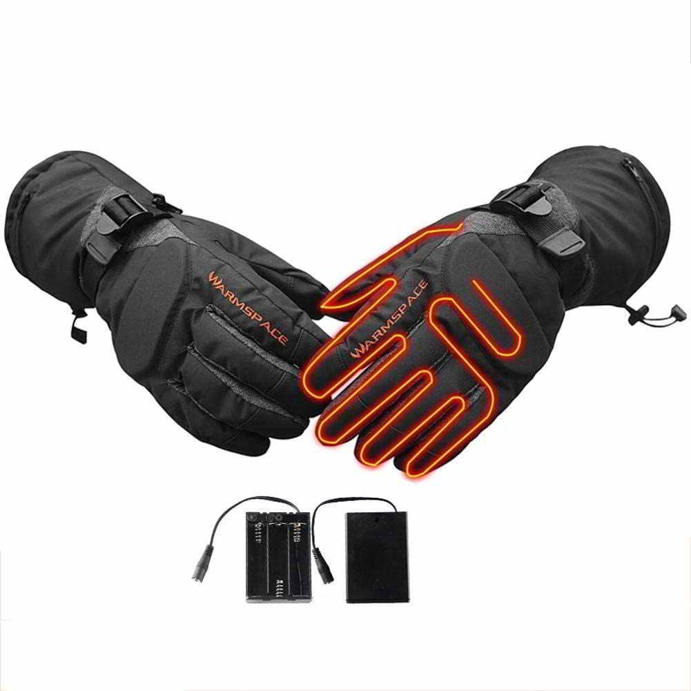 guantes calefactables bici