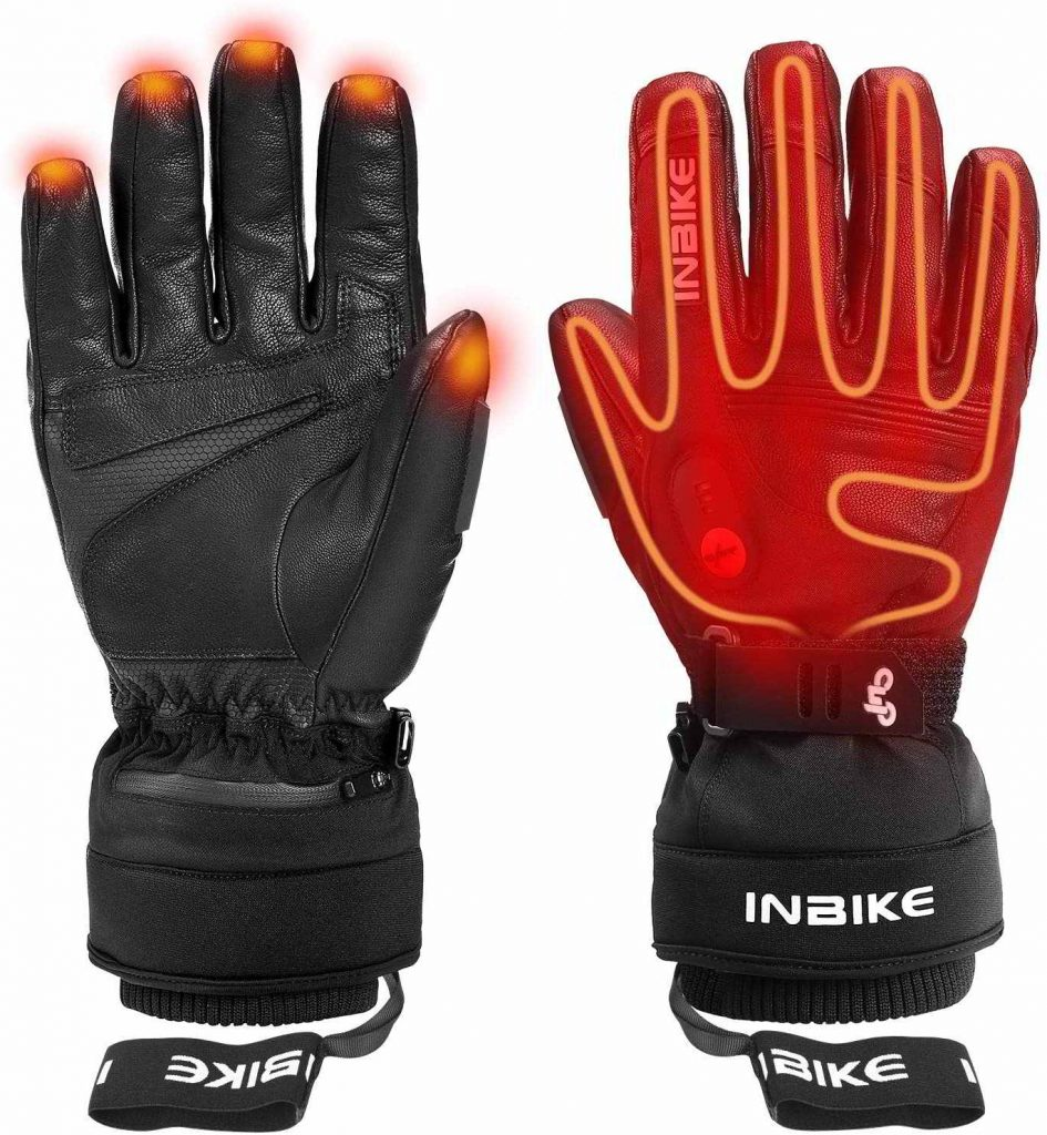 guantes calefactables ciclismo