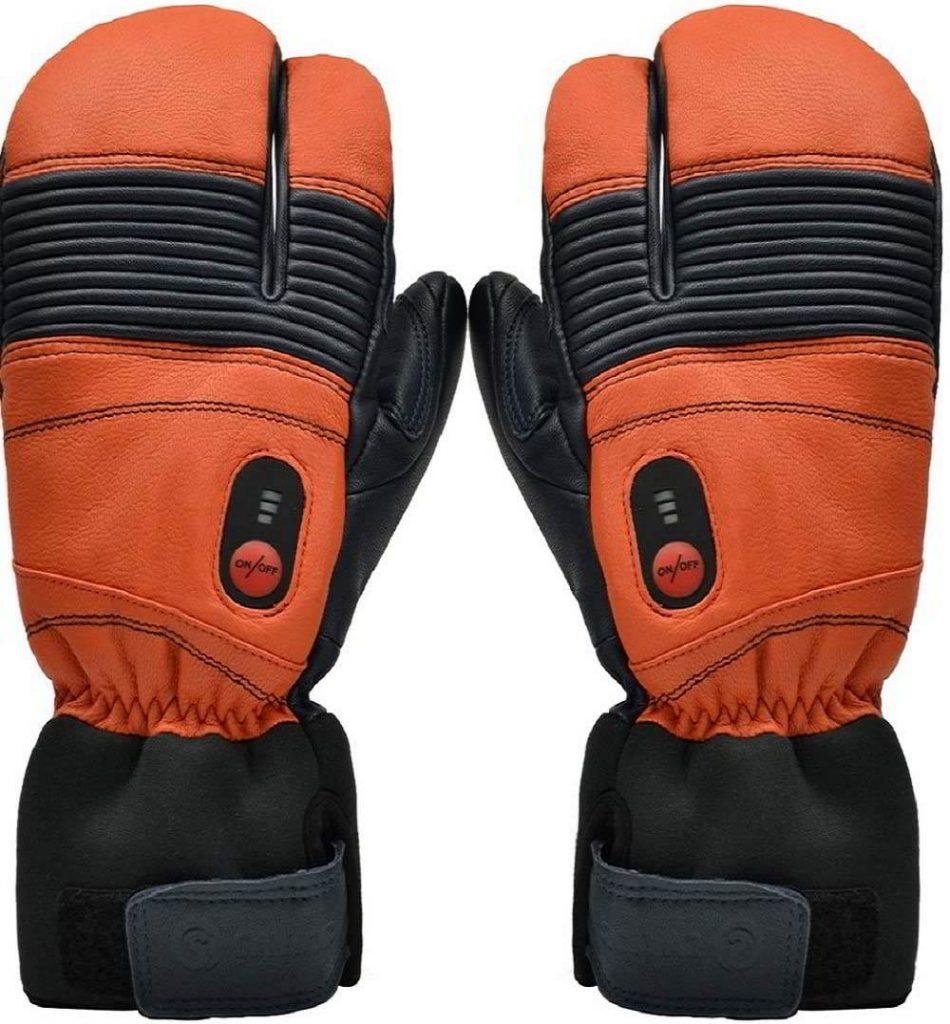 guantes calefactables esqui