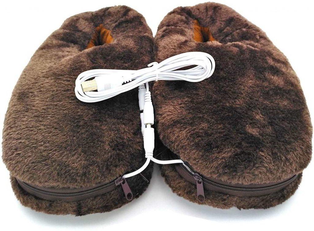 zapatillas calefactables electricas