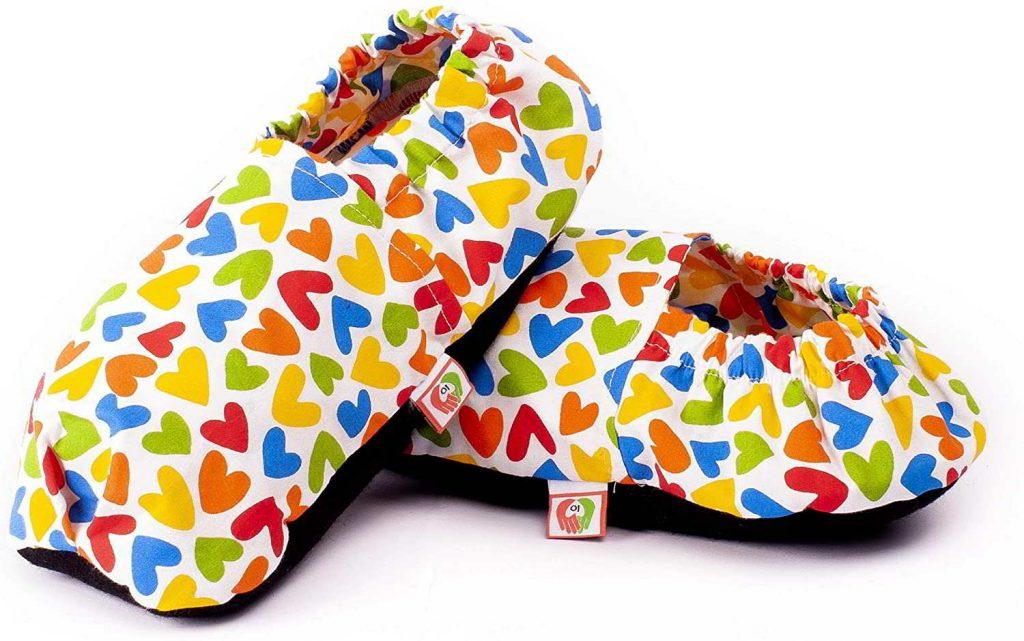 zapatillas calefactables microondas
